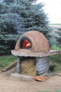 Cob oven at kinstone
